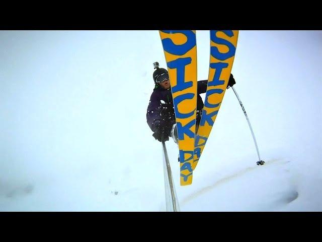 Powder Skiing - Italian Dolomites 2014