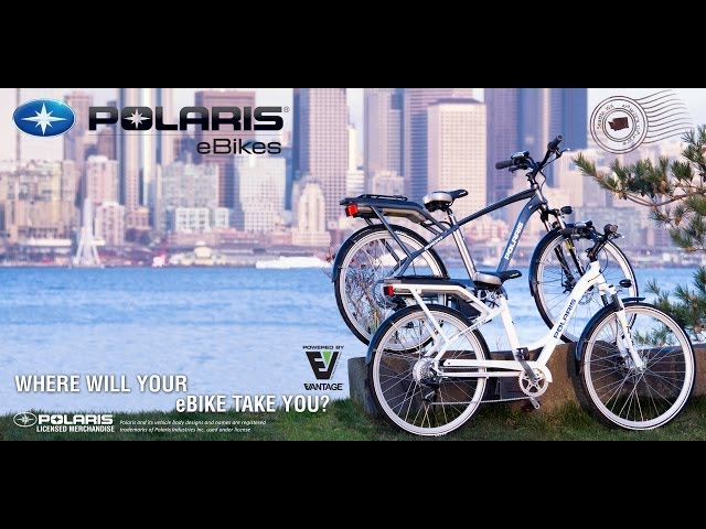 Where will your POLARIS eBike take you?  Seattle
