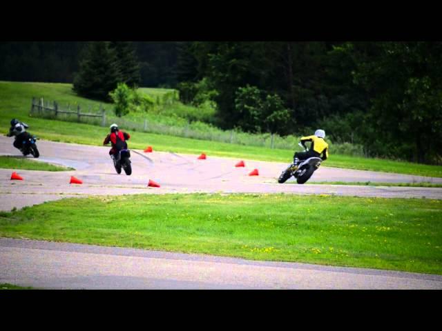 Supermoto/Sport Bike Track Day Video