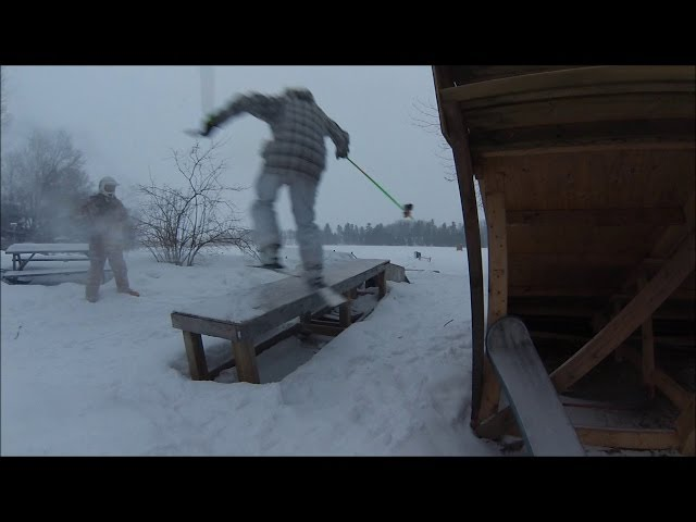Fastslide to Backslide on Skis