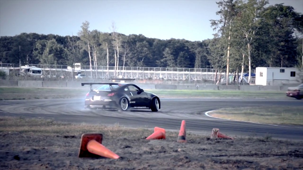 Drift Cars Getting Sideways
