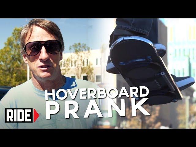 Tony Hawk Reveals HUVr Tech Hoax