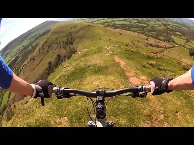 RIDGE RIDE - Brecon Beacons | GoPro Chest Mount