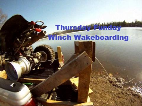 Thursday Funday Winch Wakeboarding