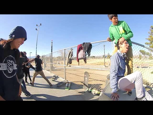 Jason Thurtle's Kickflip Crook causes a riot