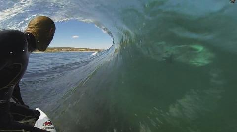 Shark in the Barrel with Kelly Slater