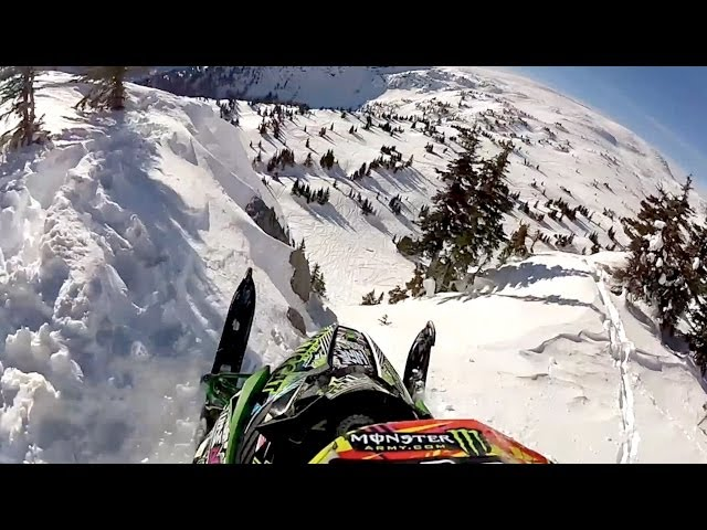 Snowmobile Launch POV