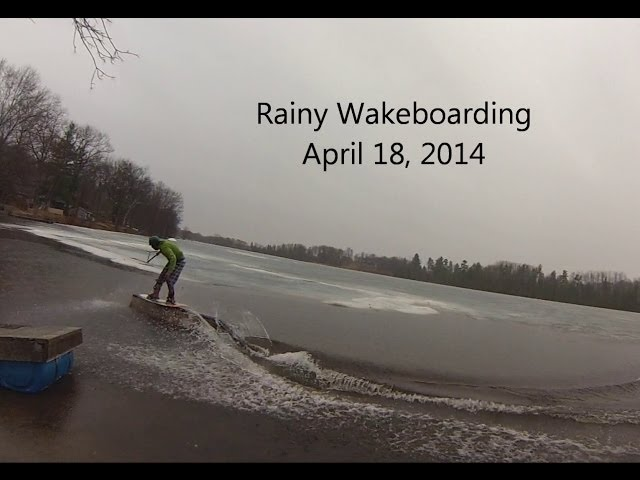 Early Season Wakeboarding 2014
