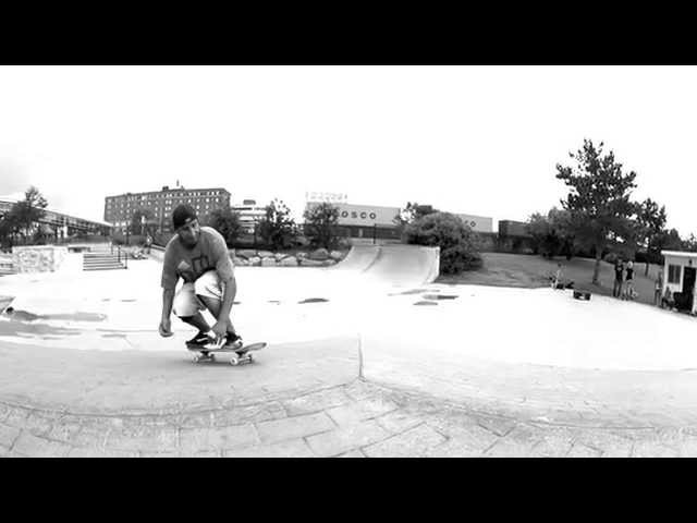 Slow Motion - Pop Shove It Tail Grab Shove Out