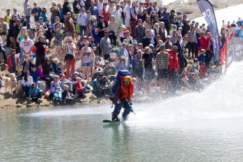 Squaw Valley Pond Skim 2014