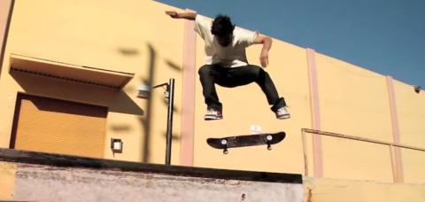 Paul Rodriguez Skate Beginnings
