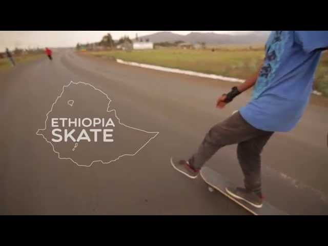 Skating in Ethiopia