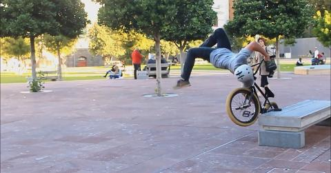 Insane BMX Flip Bail