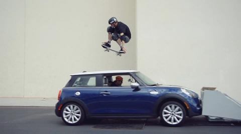 Tony Hawk Ollies Car Driving Straight At Him