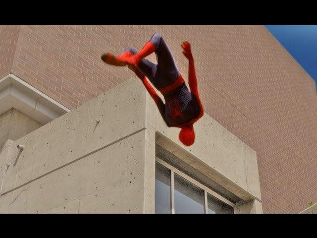 Spider Man Parkour