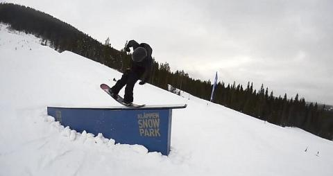 First Ever Double Frontflip Off Rail