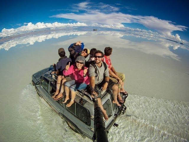 The 3 Year Selfie around the World