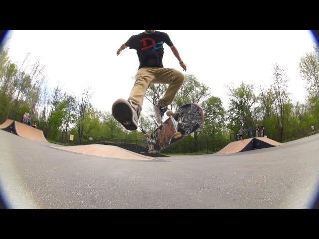 Late Laser Flip Skateology