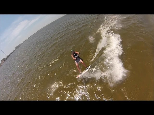 First Time Kiteboarding in Rodanthe NC