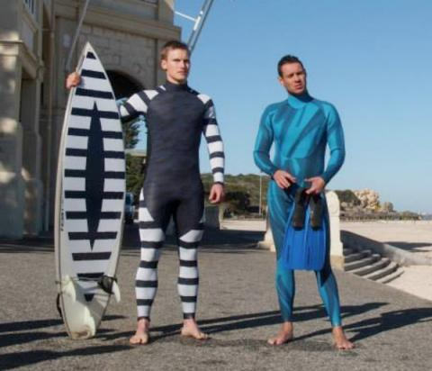 TED Talks Shark Deterrent Wetsuit