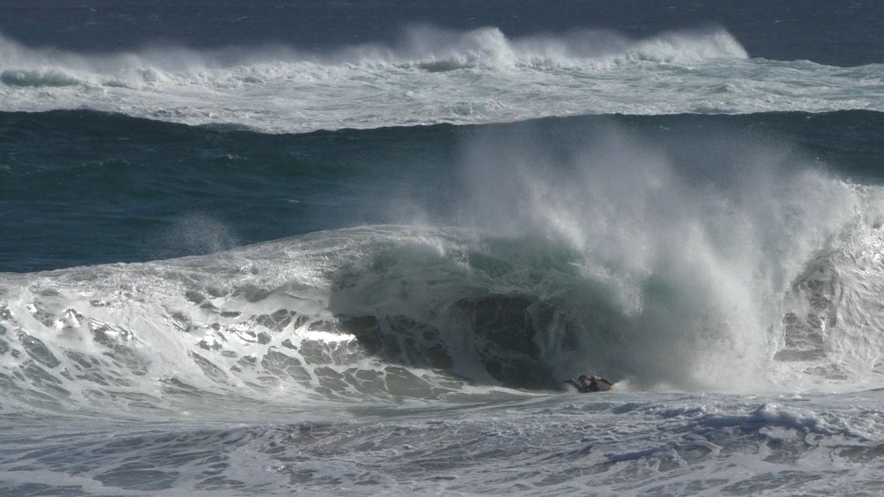 Bodyboarder Almost Drowns In Cape Town
