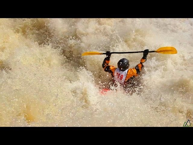 Whitewater Kayak Race Video! Check it out!