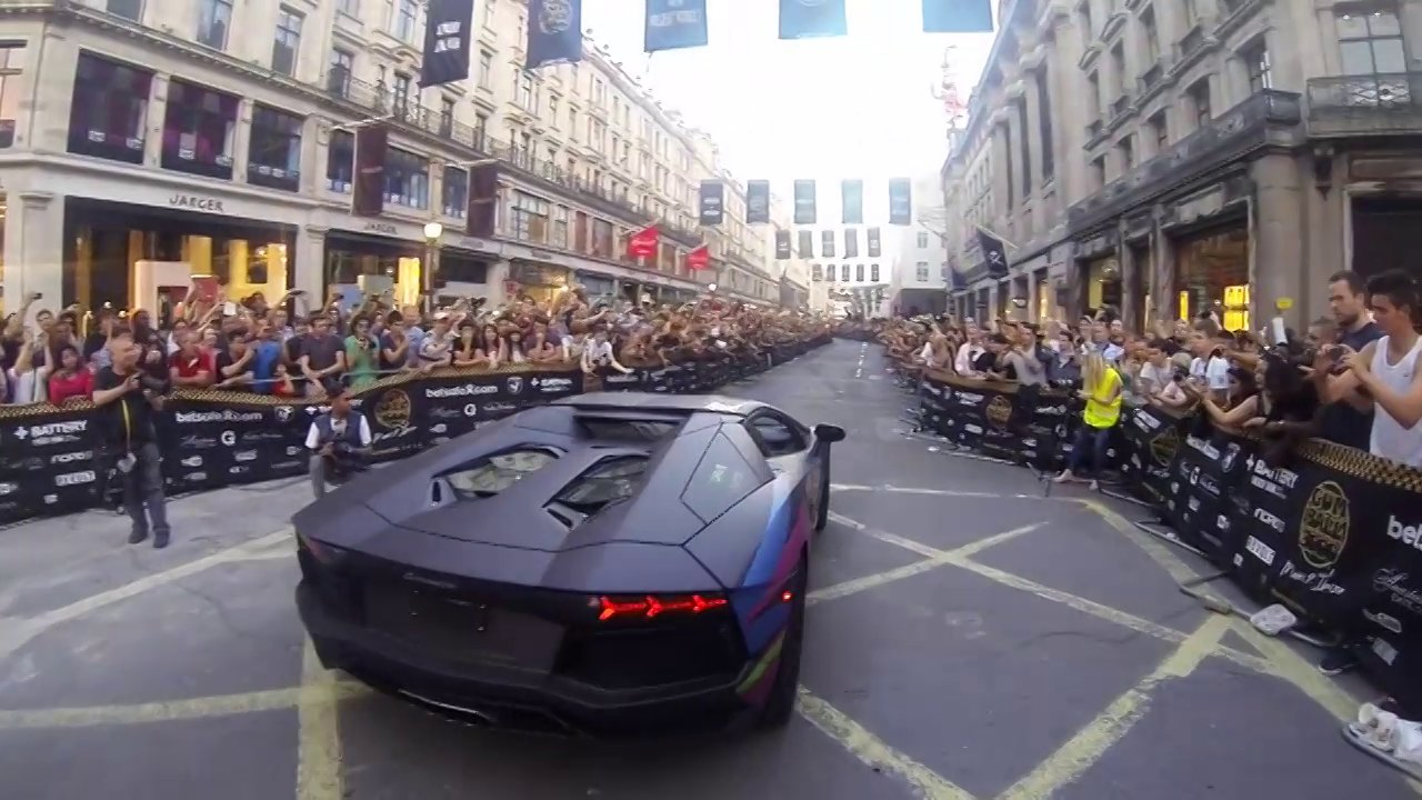 EXTREME Gumball 3000 and UK BMX Vert Series