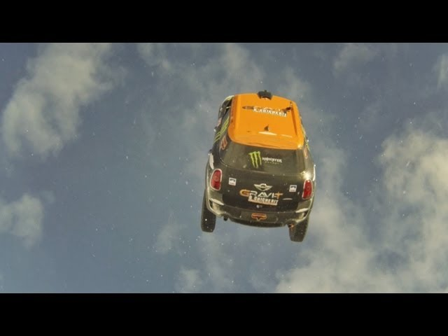 Rally Car Backflip