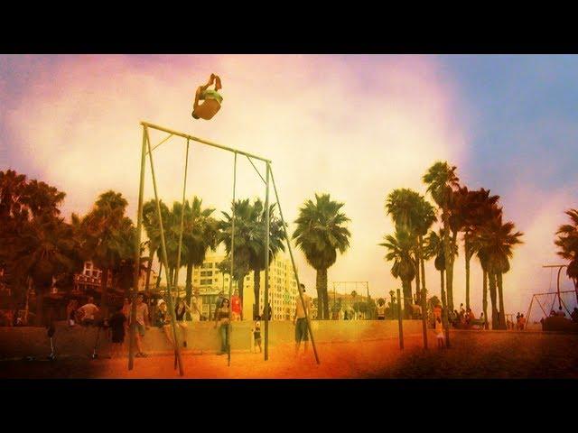 Santa Monica Freerunning Fun!