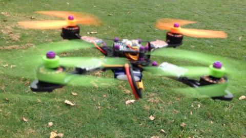 Warpquad - The Fastest Drone In The World
