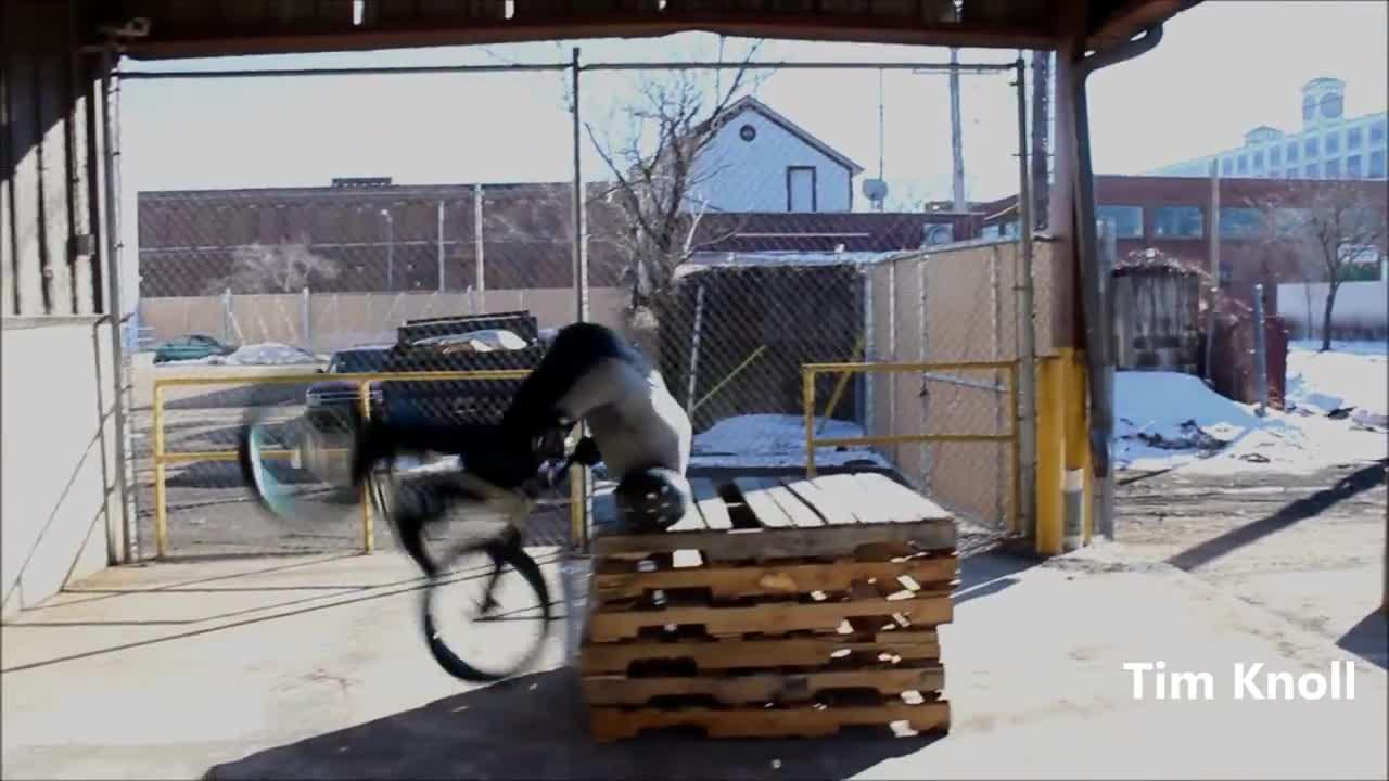 Parkour BMX