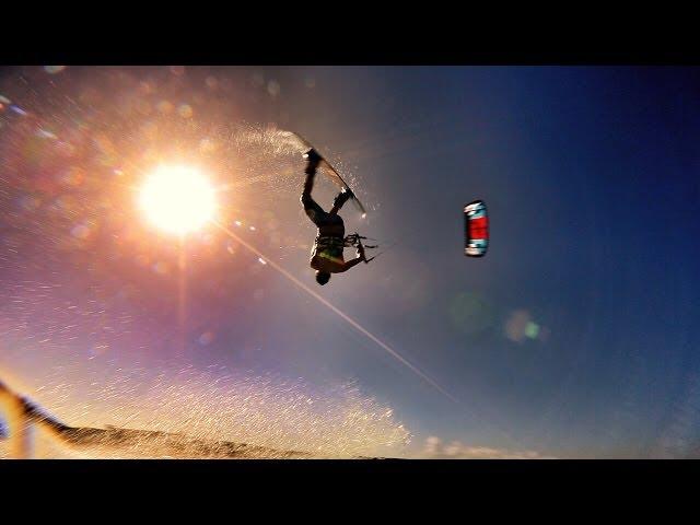 Aruba Kitesurfing Montage