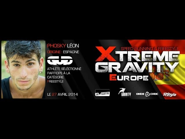 Xtreme Gravity 2014 - Speed Running - Phosky Léon