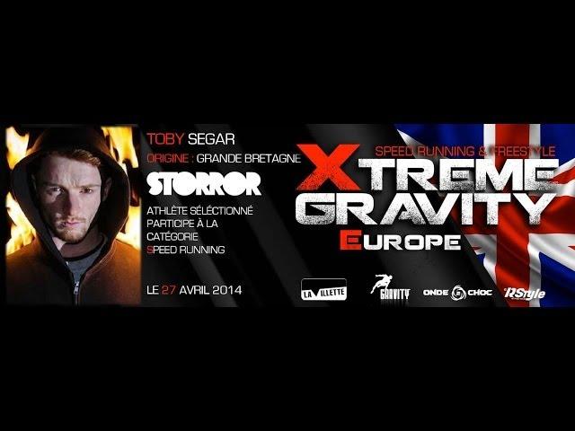 Xtreme Gravity 2014 - Speed Running - Toby Segar