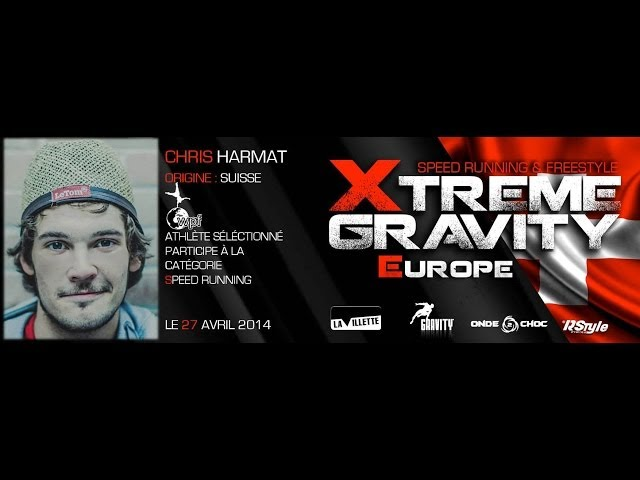 Xtreme Gravity 2014 - Speed Running - Chris Harmat