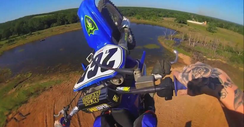 Dirt Bike Basejumping