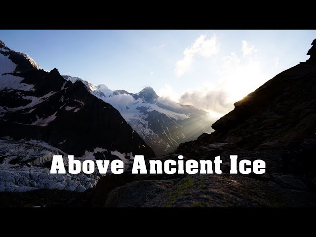 An Alpine Trail Above Ancient Ice