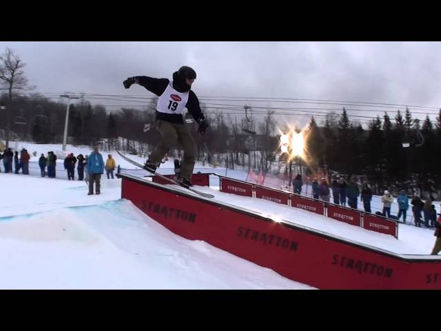 2013 VT Open Night Rail Jam at Stratton Mt