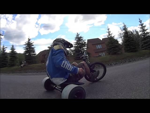 ADTA Huffy Pro Slider drift trike event mash up