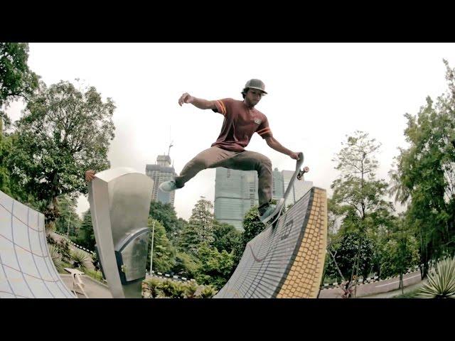 Red Bull Skate Team in Kuala Lumpur