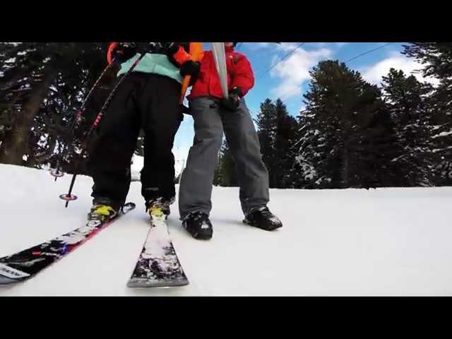 Inline on snow - Marco Dallago, Philipp Auerswald