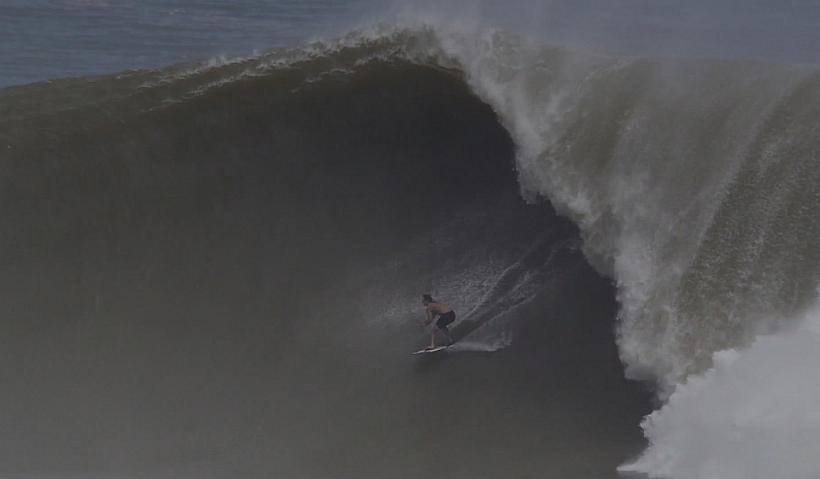 Brad Domke Skimboards Biggest Wave Ever