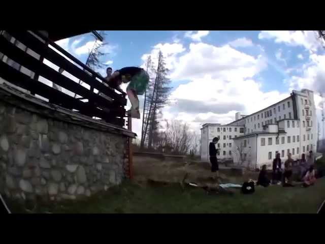 Slovak Parkour/Freerun Fails :)