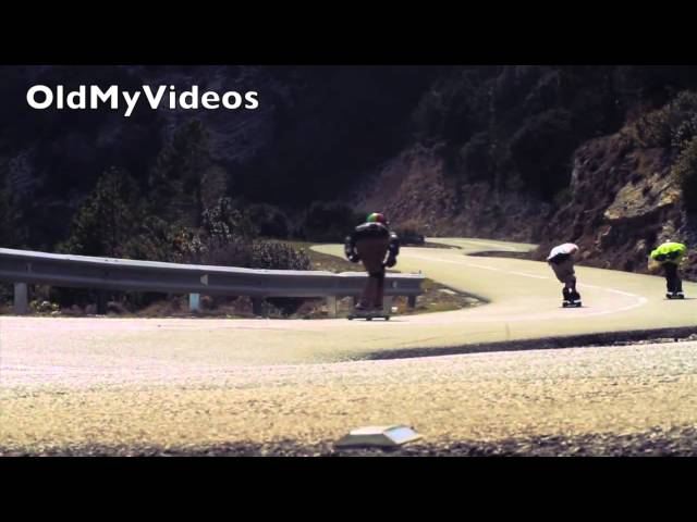 Longboard downhill/freeride is awesome