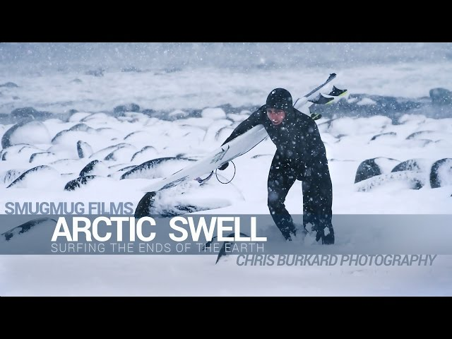 Arctic Surfing with Chris Burkard