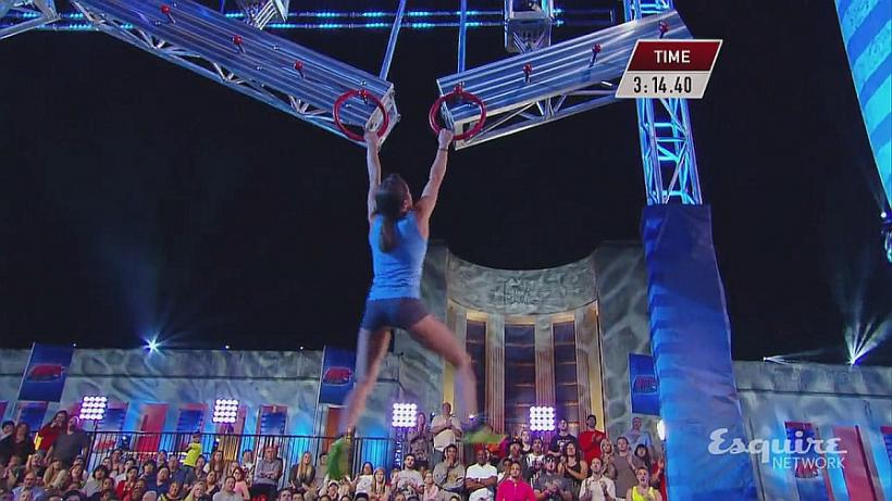 First Woman to Qualify for Ninja Warrior Finals