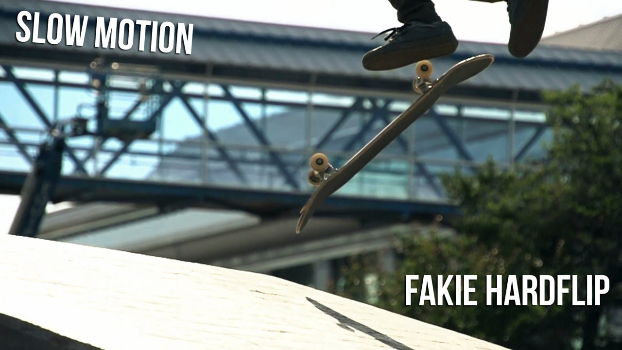 Fakie Hardflip - Slow Motion