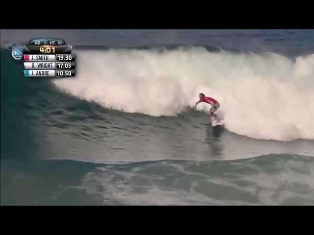 Jordy Smith gets a Perfect 10 at J-Bay