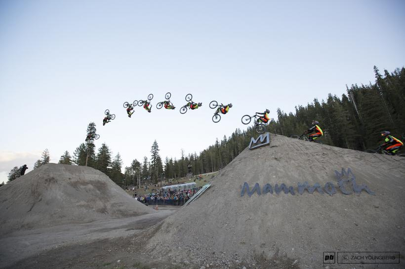 CAM ZINK SETS WORLD RECORD MOUNTAIN BIKE BACKFLIP