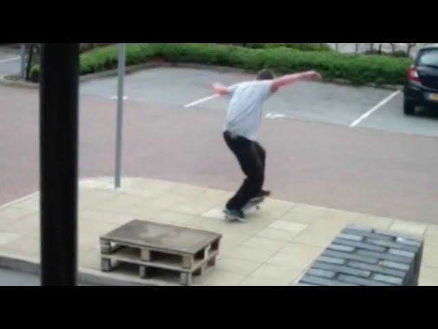 Beast Technical Creative Skateboarding!